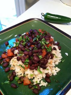 Black Beans and Rice (Boggs)