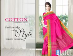 Gadwal Dark Pink Powerloom Narayanapet Cotton Saree & Blouse Product code: GSSGD9C009 Retail price: 755/- Sale price : 719/-