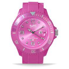 Tutti Milano horloge TM001FU Fuchsia 48mm (goedkoopste van NL + gratis verzending)