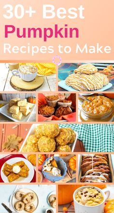 Whether you have half-a-can pumpkin purée sitting in the refrigerator or a cupboard filled with pie filling? Here are 30 Best Pumpkin Recipes to Make this Fall & Winter. They are tasty! Best Pumpkin, Canned Pumpkin, Pumpkin Puree, Healthy Low Carb Recipes, Healthy Foods To Eat, Vegetarian Recipes, Thanksgiving Recipes, Fall Recipes, Thanksgiving Celebration