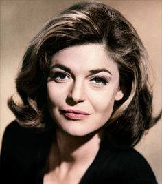 Anne Bancroft and her amazing hair.