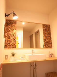 Texas short cube vanity room wall