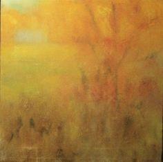 Autumn Glowing by Ellen LoCicero Acrylic on Canvas