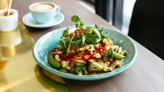 Chicken stir-fry with roasted cashew nut sauce at Darling.