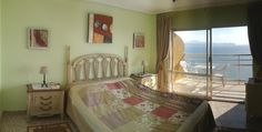 The master bedroom has its own balcony with stunning sea view and an ensuite bathroom. www.wonderful-calpe.webs.com