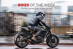 Winner of Bike EXIF's latest 'Custom Bikes Of The Week'—the Rough Crafts Yamaha XSR700.