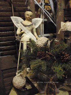 Round Barn Potting Company: Winter. The art of Display - Lori Miller