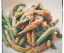 Recette Haricots verts aux tomates par Coraline83 - recette de la catégorie Accompagnements