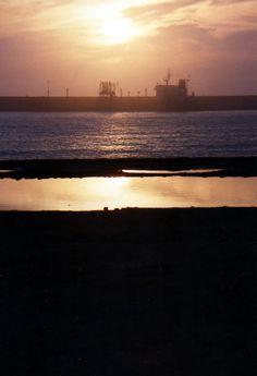 Sunset praia de Matosinhos