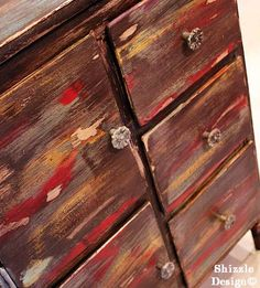 Shizzle Style Painted Furniture Class Makeovers ~ July — Shizzle Design