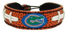 Florida Gators Classic Football Bracelet