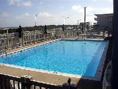Ocean Front Condo in North Wildwood. 1 bedroom, 1 bath with pool.  Some weeks still available.