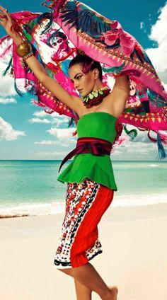 Harper's Bazaar Mexico, July 2013