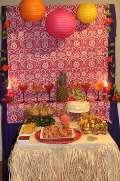 Hawaii Themed Party! Decor, how-to, and recipes too :)