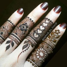 Who doesn't love mehndi?! It's an essential part of every girl's bridal…