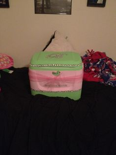 The Cooler that I made for my Big =) @Brittany Crockett