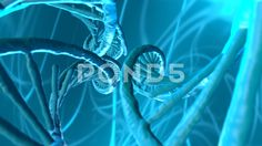 3d render of dna structure, abstract background - Video de Stock | by GiovanniCancemi