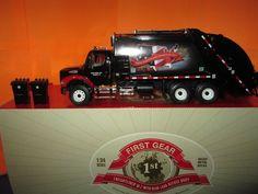 First Gear Freightliner M-2 w/Rear Load Refuse Body 1:34 Diecast in Box #FirstGear