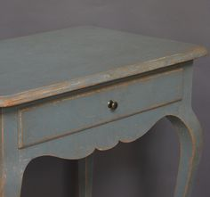 Rococo Style Side Table | From a unique collection of antique and modern side tables at http://www.1stdibs.com/furniture/tables/side-tables/