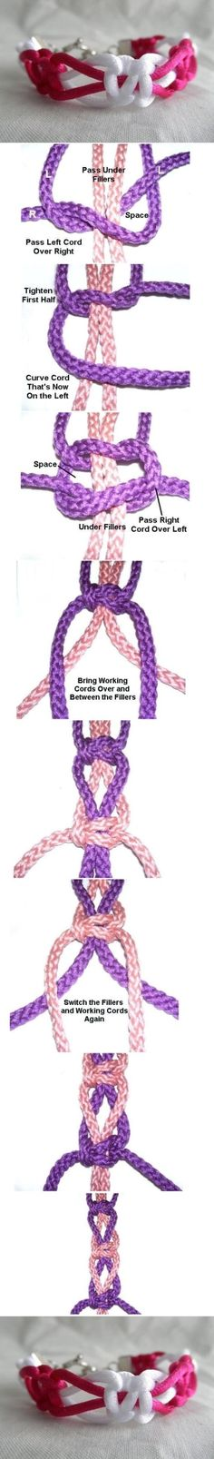 DIY Macrame Bracelet DIY Macrame Bracelet by diyforever