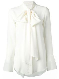 White silk blouse with bat sleeves Chloé Ebay Low Price Sale Online bzEybM8K5