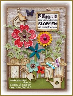 Cards en Scrap Challengeblog: Spreuk van de week!