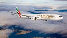 Emirates Boeing 777. (Aka: The Triple 7.)
