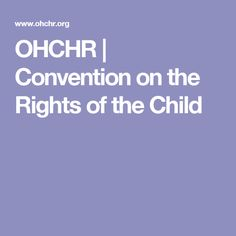 Convention on the Rights of the Child Education Policy, Human Rights, Children, Gender, Young Children, Kids, Children's Comics, Sons, Child