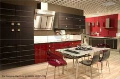 Very modern! #kitchen