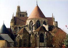 cathedrale sens exterieur chevet - Buscar con Google