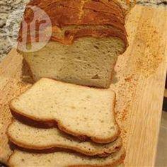 Biały chleb bezglutenowy