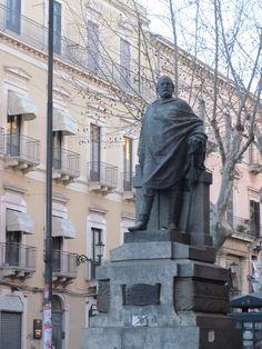 Statua Garibaldi, Via Etnea, Catania, Sicily. Catania, Sicilian, Baroque, Statue, Travel, Fotografia, Viajes, Destinations, Traveling