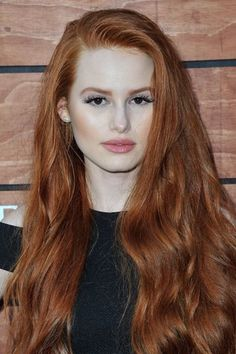 Burgundy Brown - 40 Red Hair Color Ideas – Bright and Light Red, Amber Waves, Ginger Hair Color - The Trending Hairstyle Madelaine Petsch, Ginger Hair Color, Red Hair Color, Beautiful Red Hair, Beautiful Redhead, Beautiful Women, Cheryl Blossom Riverdale, Shades Of Red Hair, Auburn Hair