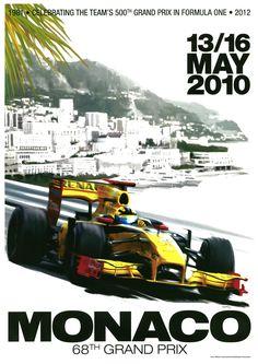 Monaco 2010 Garry Walton by Meiklejohn illustration