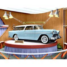 Chevrolet Nomad 1955 Poster – Dealership Promotional Display of Brand New Nomad – My Generation Shop