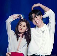 Jimin x Seulgi Jimin Seulgi, Kang Seulgi, Kpop Couples, Cute Couples, K Pop, Autumn Instagram, Perfect Husband, Bts Girl, Jimin Fanart