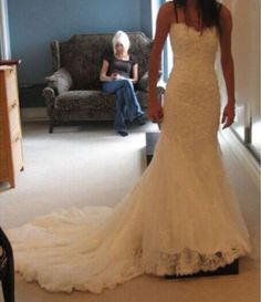 New-white-ivory-wedding-dress-bridal-gown-custom-size-2-4-6-8-10-12-14-16-18-20