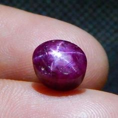 4.9 cts  Natural Unheated & Untreated Star Ruby Nice Top Rays Star L#126-159