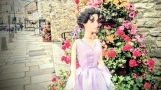 Elizabeth Taylor doll from Mattel at Wetherby . North Yorkshire. Just by Leeds. Photo taken by Sally Heather Elizabeth Taylor . August 2016.
