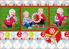 Christmas photo idea. Fun for the kids and family...had lots of laughs pulling this off with the little ones! :)