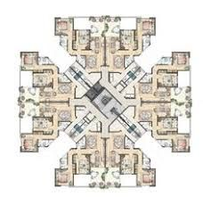 Image result for high rise apartment building floor plans