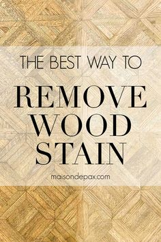 Stripping old wood stain and varnish is the first step in refinishing Wood furniture. Find out how to remove wood stain and varnish! #diyproject #diningtable #naturalwood Refinish Wood Furniture, Stripping Furniture, Furniture Update, Furniture Repair, Chalk Paint Furniture, Furniture Makeover, House Furniture, Diy Furniture, Stripping Stained Wood