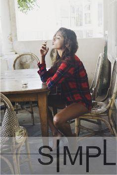 #simpl #life #girl #girls #cute #nice #pint #beautiful #amazing #photo #fit #pinterest#fashionphotography #fashion #look #portrait #photography #inspiration #model #beauty #autumn #studio #hair