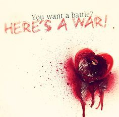 Bullet For My Valentine ~ You Want A Battle? (Here's a War)