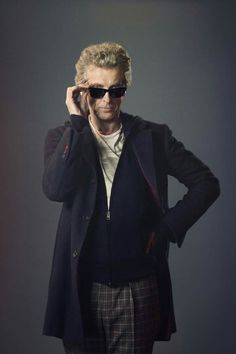 Peter Capaldi being cool.