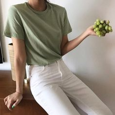 casual date outfit Look Fashion, Korean Fashion, Fashion Outfits, Summer Outfits, Casual Outfits, Cute Outfits, Fitz Huxley, Mode Style, Aesthetic Clothes