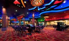 Interior Casino Décor | Casino Theming | Custom Decor Design | Casino Interior Upgrade | Gaming Floor Casino Décor | Casino Carpet Design | Little Creek Casino