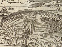 teseo ariadne labyrinth -