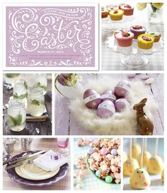 Tiny Prints Easter Party Inspiration Board: Have you started planning an Easter celebration yet? Today's board is full of darling ideas to inspire you. Hop to it!