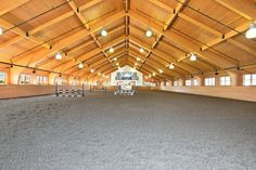 The grounds include an equestrian center, indoor ring, outdoor rings, grass ring, and barn lounge. Luxury Horse Barns, Minecraft Horse, Horse Farms For Sale, Horse Barn Designs, Thing 1, Dream Barn, Horse Stables, Show Jumping, Show Horses